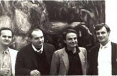 Biennale 1984, con Galliani, Polcina, Garouste
