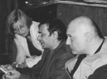 Con Patrizia Cavalli e Giacinto Cerone